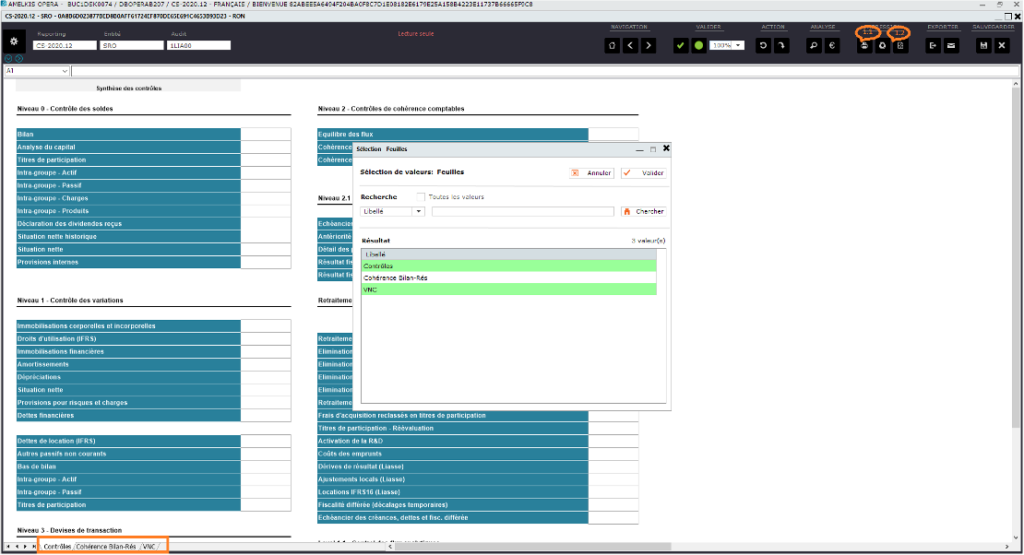 Amélioration fonctionnelle optimisation impression - Amelkis Intercompany