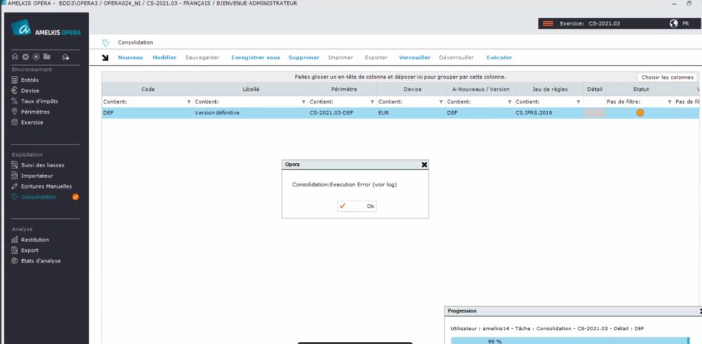 Amélioration process bug - Amelkis Interncompany